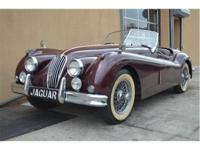 1955 Jaguar XK 140 Roadster with matching number.