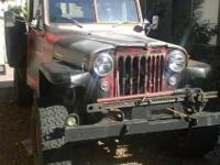 1955 Willys Jeep 4x4 P/U Flat fender pick-up truck -