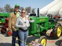 This is a fully restored john deer m a very great