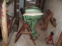 FOR SALE.  1955 Johnson Model CD12 51/2 horse power