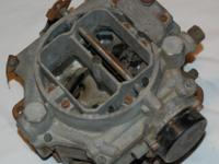 1955 Corvette Carburetor Carter WCFB Patent # 2654389 4