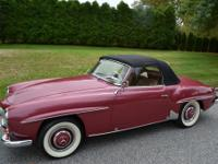 1955 Mercedes Benz 190SL  The following work has been