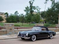 This is a 1955 Mercedes-Benz 190SL Roadster in