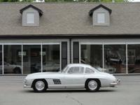 1955 Mercedes Benz 300SL Gullwing, DB180 Silver Grey