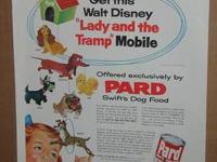 I have for sale a vintage Pard Swift dog food ad