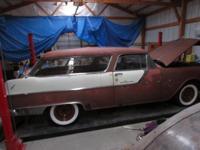 1955 Pontiac Station Wagon 2DR ..Project ..V8 Engine