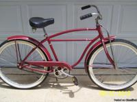 THIS IS A 1955 SCHWINN BIKE  SERIAL NO. U03003