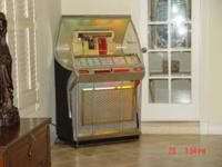 Antique Seeburg juke box in PERFECT working condition!
