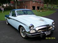 1955 Studabaker President Sport Coupe Paint, interior,