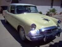 1955 Studebaker Commander 2DR ..Beautiful Car ..61,000