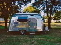 "In 1955 Airstream came out with the ""Bubble."" It was"