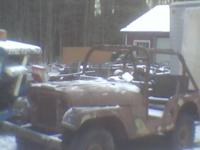 1955 Jeep from Colordo. Rebuilt engine, almost full