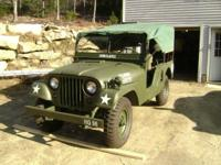 1955 M-170 Willys Frontline Ambulance, 80% restored,