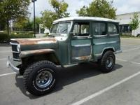1955 Willys Wagon 4x4. Vin # 5416810571. Mileage reads