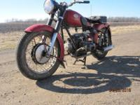 1955 ZUNDAPP KS 601..BIKE HAS BEEN PARKED INSIDE SINCE