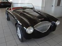 This is a 1955 Austin Healey 100. But this is not your