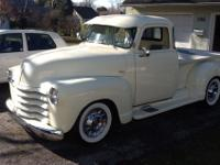 You are viewing a 1955 chevy pickup 3100 first series.