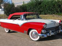 1955 Ford Fairlane Sunliner Convertible.  Stunning