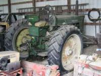 1955 John Deere 70 with front loader. I do not use this
