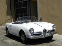 1956 Alfa Romeo Giulietta Spider VIN: AR149500627,