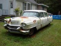 1956 cadillac needs restoration every thing is there