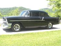 1956 Chevy 2 Door Sedan. This 56 has a 327 Small Block