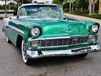1956 Chevrolet Bel Air Convertible 350 CI V-8