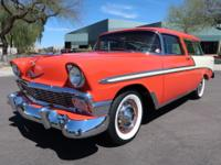Here is a absolutely drop dead gorgeous, 1956 Chevrolet
