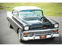 This 1956 Chevy Bel Air 2 door hard top has been very