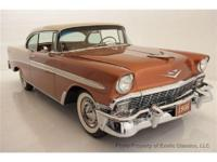 1956 CHEVROLET BEL AIR 2 DOOR HARDTOP EXOTIC CLASSICS