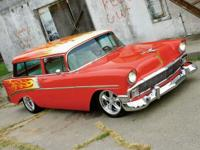 1956 Chevrolet Handyman Wagon.  CHASSIS AND DRIVELINE