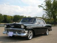 1956 CHEVY BEL AIR CONVERTIBLE. NEW BODY OFF