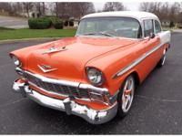 1956 Chevrolet Bel Air/150/210 RESTO MOD  This is a one