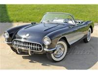 1956 Corvette with dual quad 265. Although the Corvette