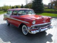 DescriptionThe Chevy Nomad two-door wagon was a
