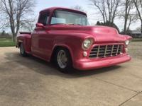 1956 Chevy 1/2 Ton Pickup (MI) - $27,500 Exterior: Rose