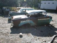 1956 Chevy 2 Door Hard Top project car with original