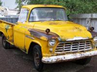 PRICE REDUCED AGAIN! - 1956 Chevy 3100 Pickup - - 1-Ton