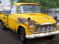 1956 Chevy 3100 Pickup - Very Rare 1-Ton Step Side