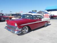 1956 Chevy Bel-Air 2 door hard top full new build with
