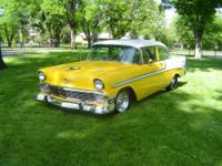 This is a 1956 Chevy Show/Pro Street Car. It was