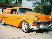 Must See 1956 Modifyed Chevy Sedan Delivery,All
