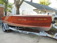 FULL / TOTAL RESTORATION 12 YEARS AGO...BOAT IS