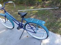 I am selling this bicycle I had refinished for my wifes