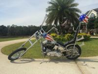 This 1956 panhead is the king of all choppers, it is