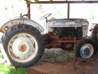 1956 F600 Ford Tractor Call for more information:  or