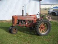 1956 Farmall 400 Great Running tractor with working TA,