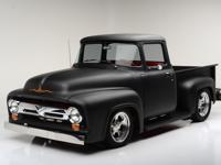 The 1953-1956 Ford F-100 Pickup styling was clean and
