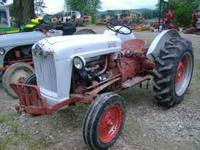 1956 FORD 600 TRACTOR- 5sp, live hydr., PTO, excellent
