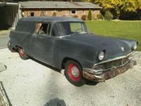 EXTREMELY RARE, 1956 Ford Messenger SEDAN DELIVERY from